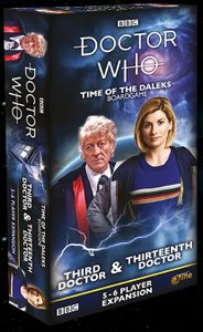 Doctor Who - Time of the Daleks - Third and Thirteenth Doctor 5&6 Player Expansion | Eastridge Sports Cards & Games