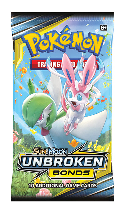 Pokemon - Sun & Moon Unbroken Bonds Booster Pack | Eastridge Sports Cards & Games
