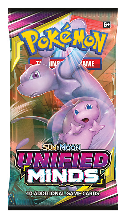 Pokemon - Sun & Moon Unified Minds Booster Pack | Eastridge Sports Cards & Games