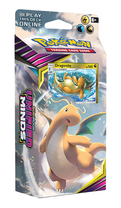 Pokemon - Sun & Moon Unified Minds Theme Deck - Dragonite | Eastridge Sports Cards & Games