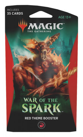 War of the Spark Theme Booster - Red | Eastridge Sports Cards & Games