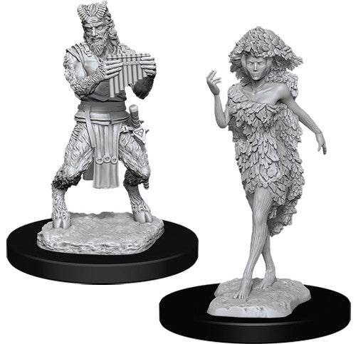 D&D Nolzur's Marvelous Unpainted Miniatures: Satyr and Dryad | Eastridge Sports Cards & Games