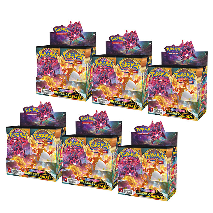 Darkness Ablaze Booster Case | Eastridge Sports Cards & Games