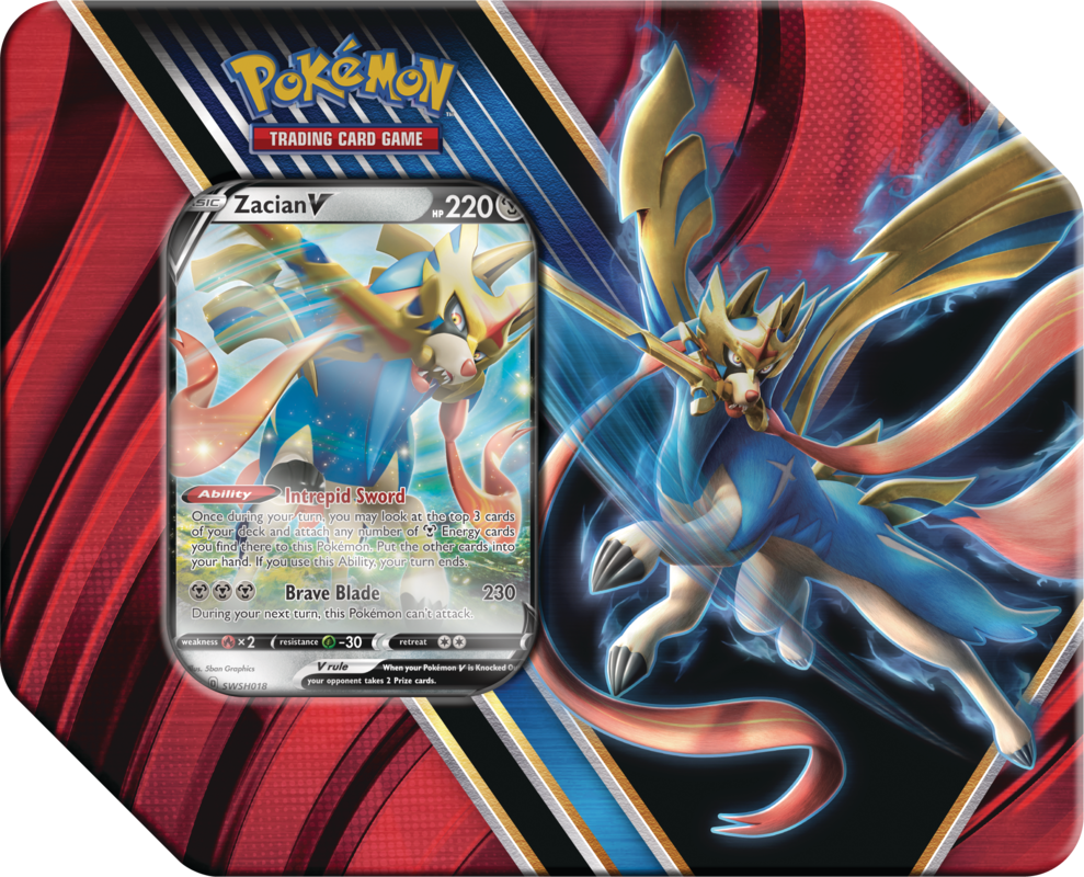 Pokemon Tin: Legends of Galar - Zacian | Eastridge Sports Cards & Games