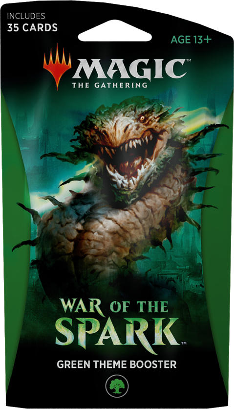 War of the Spark Theme Booster - Green | Eastridge Sports Cards & Games