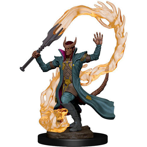 D&D Premium Painted Miniature: Male Tiefling Sorcerer | Eastridge Sports Cards & Games