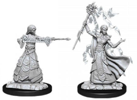 D&D Nolzur's Marvelous Unpainted Miniatures: Elf Wizard (Female) | Eastridge Sports Cards & Games