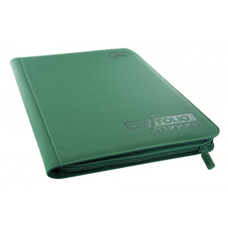 Ultimate Guard Zipfolio XenoSkin™ 18-Pocket- Green | Eastridge Sports Cards & Games