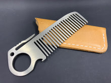 Load image into Gallery viewer, Pocket comb (Titanium)