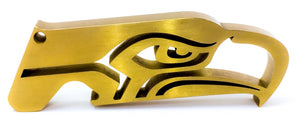 Hogdoggins Seattle Seahawks Bottle Opener Gold
