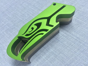 Hogdoggins Seattle Seahawks Bottle Opener Green