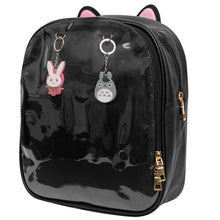 Load image into Gallery viewer, Black Cat Ita Bag