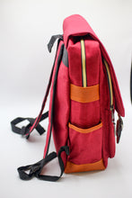 Load image into Gallery viewer, Red Backpack