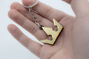 KH Crown Sigil Keychain