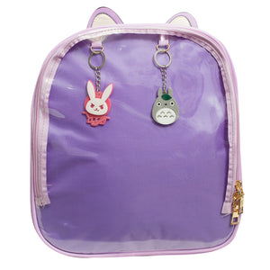 Purple Cat Ita Bag