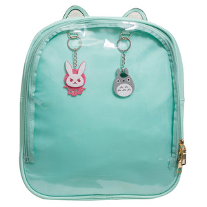 Mint Green Cat Ita Bags