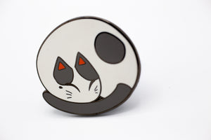 Lazy Mochi Enamel Pin