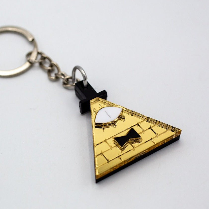 Bill Cipher Keychain