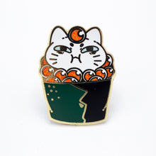 Load image into Gallery viewer, Sushi Cat Enamel Pin