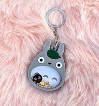 Load image into Gallery viewer, Totoro Keychain Shakers