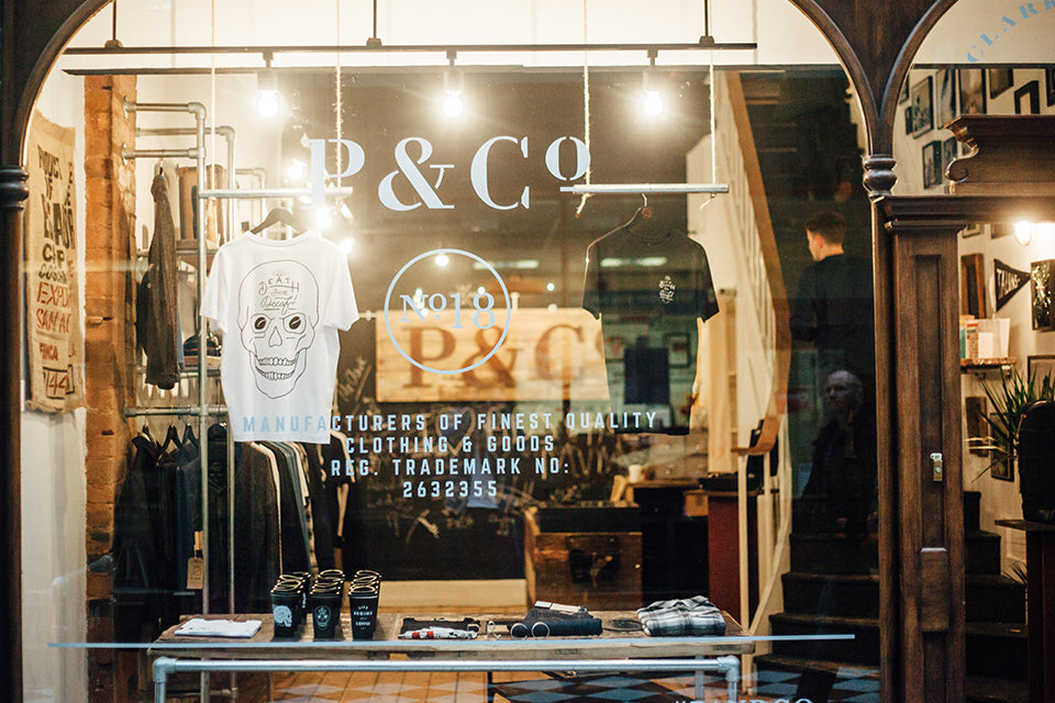 P&Co No 18 Great Western Arcade Birmingham