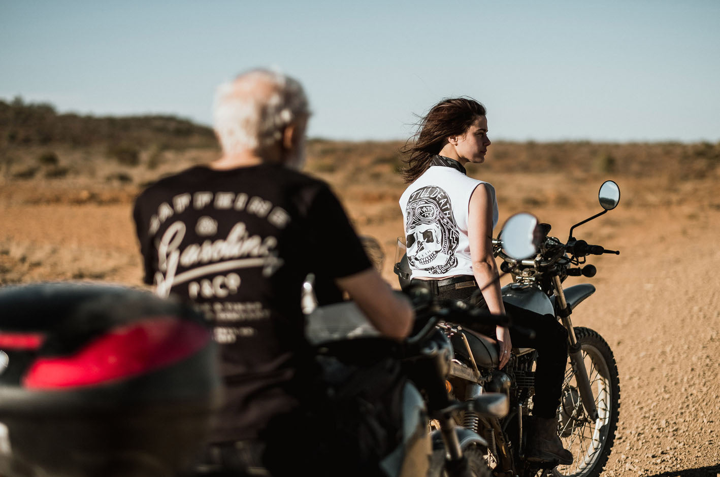 P&Co Motorcycle ride Australia