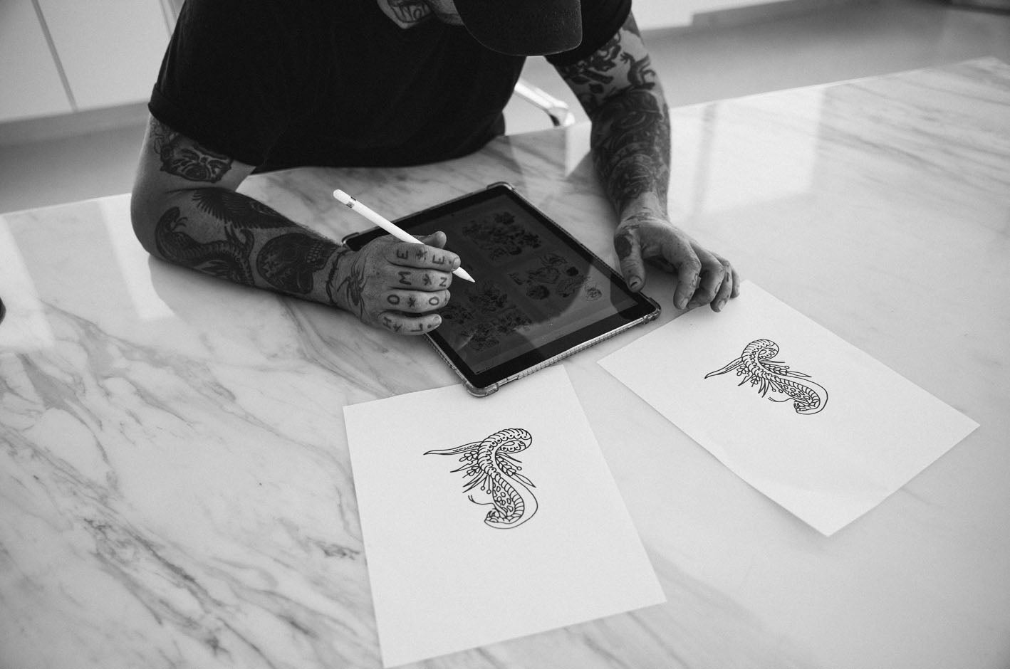 P&CO TATTOOIST FEATURE: LEVI RIVOIRE, CROOKED DAGGER LA