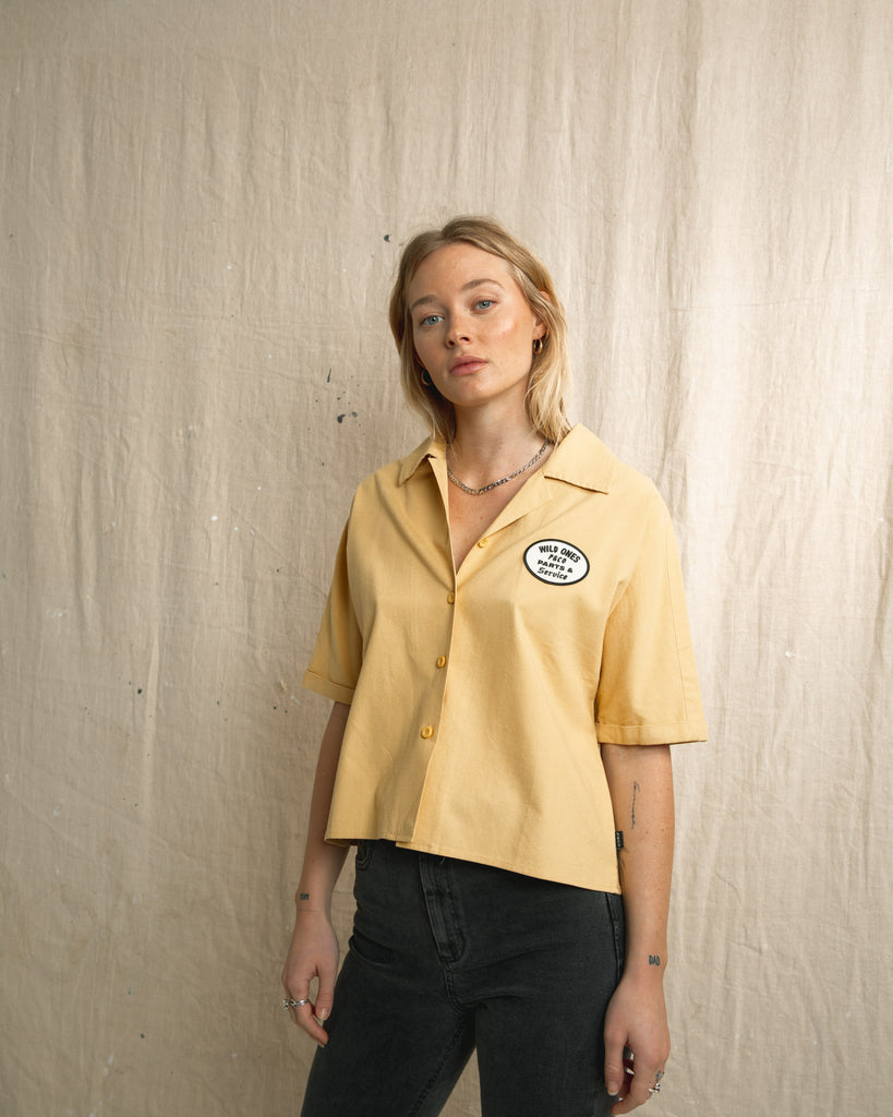 P&Co Women's Full Service Bowling Shirt