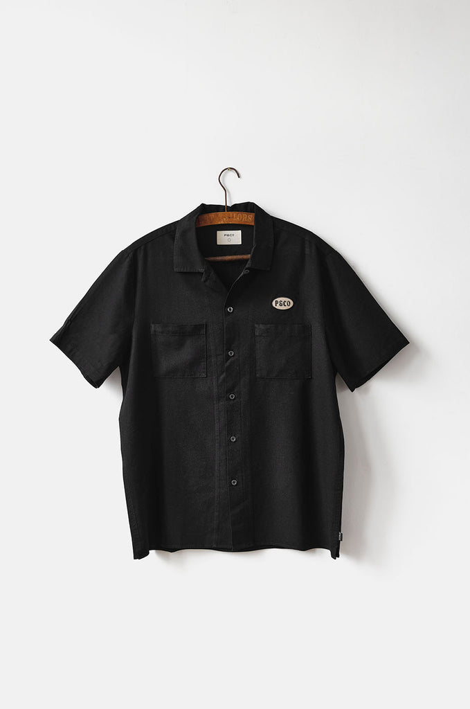 P&Co Men's Take It Easy Bowling Shirt