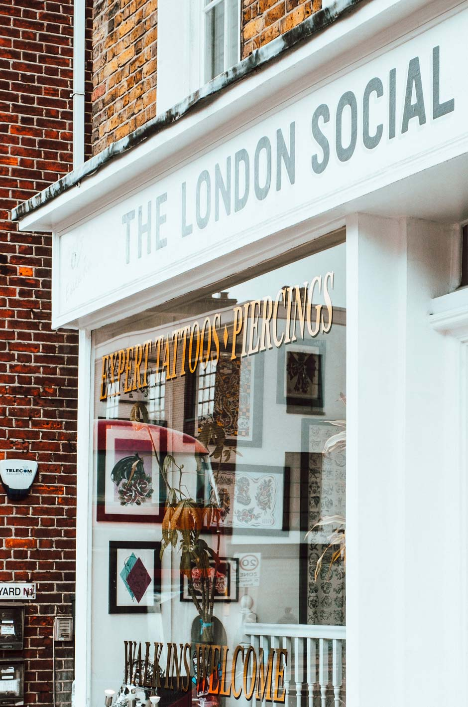 The London Social Traditional Tattoo Shop