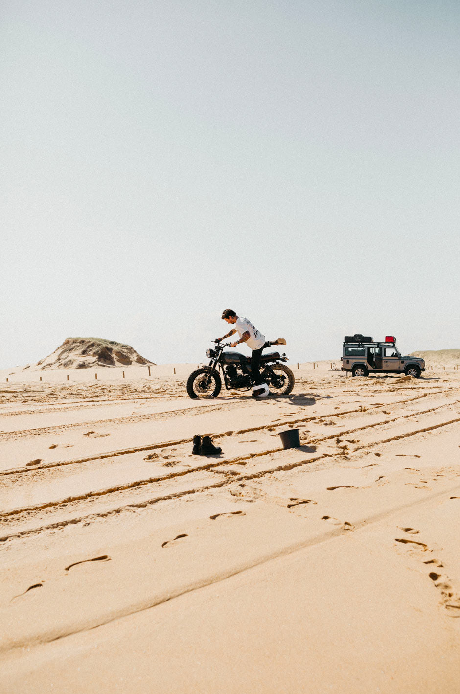 Travelling across australia while wild camping