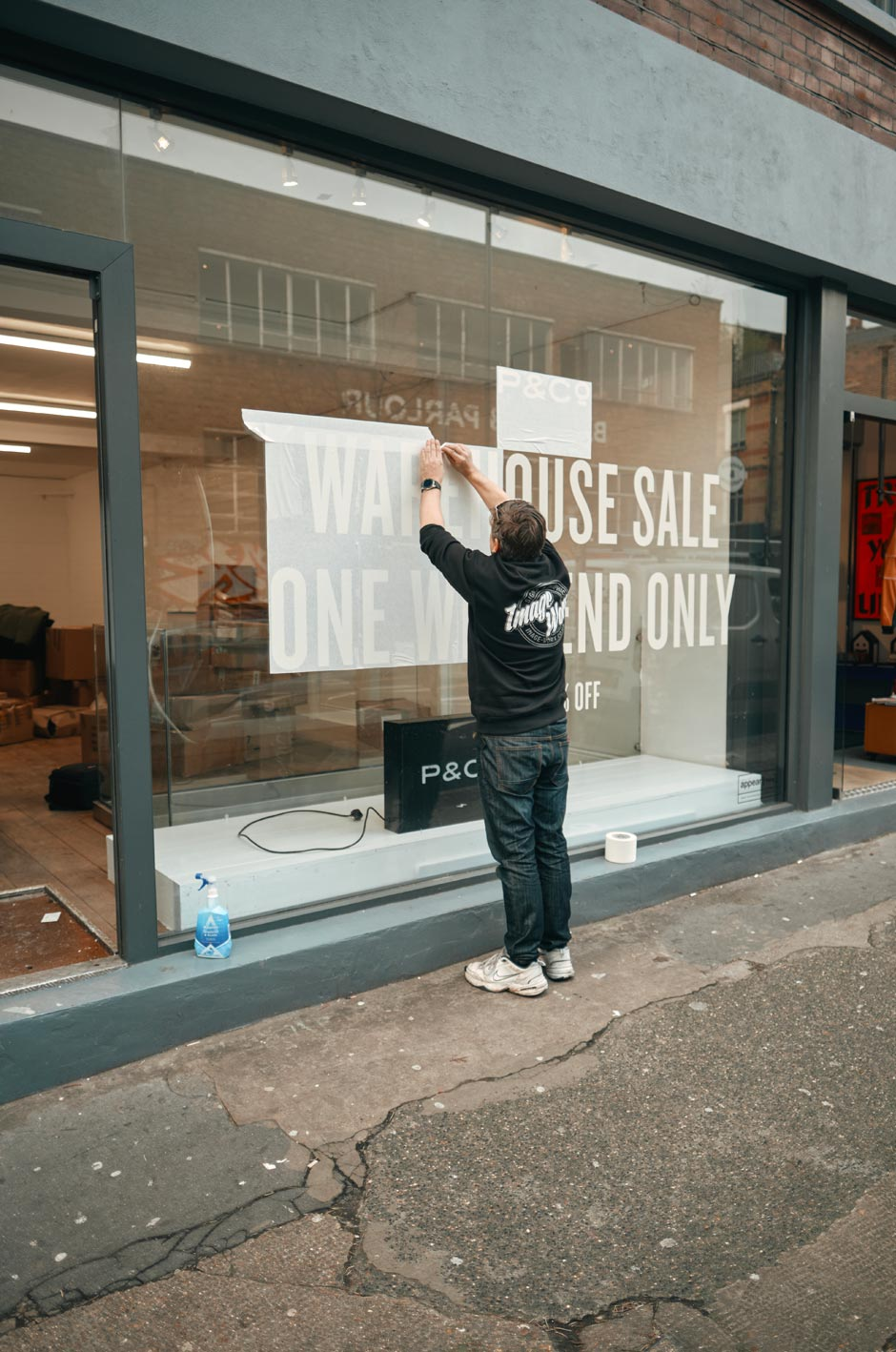 P&Co Warehouse Sale in Shoreditch 2020