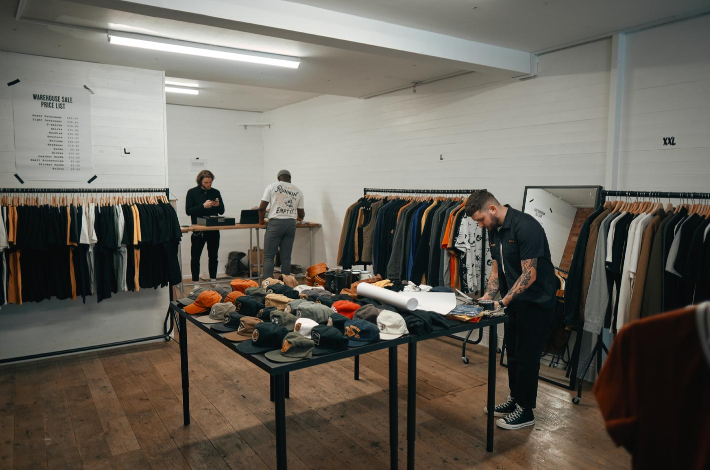 Sample Sale Shore ditch P&Co