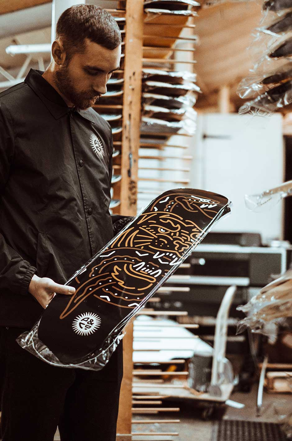 Skateboards made in Birmingham