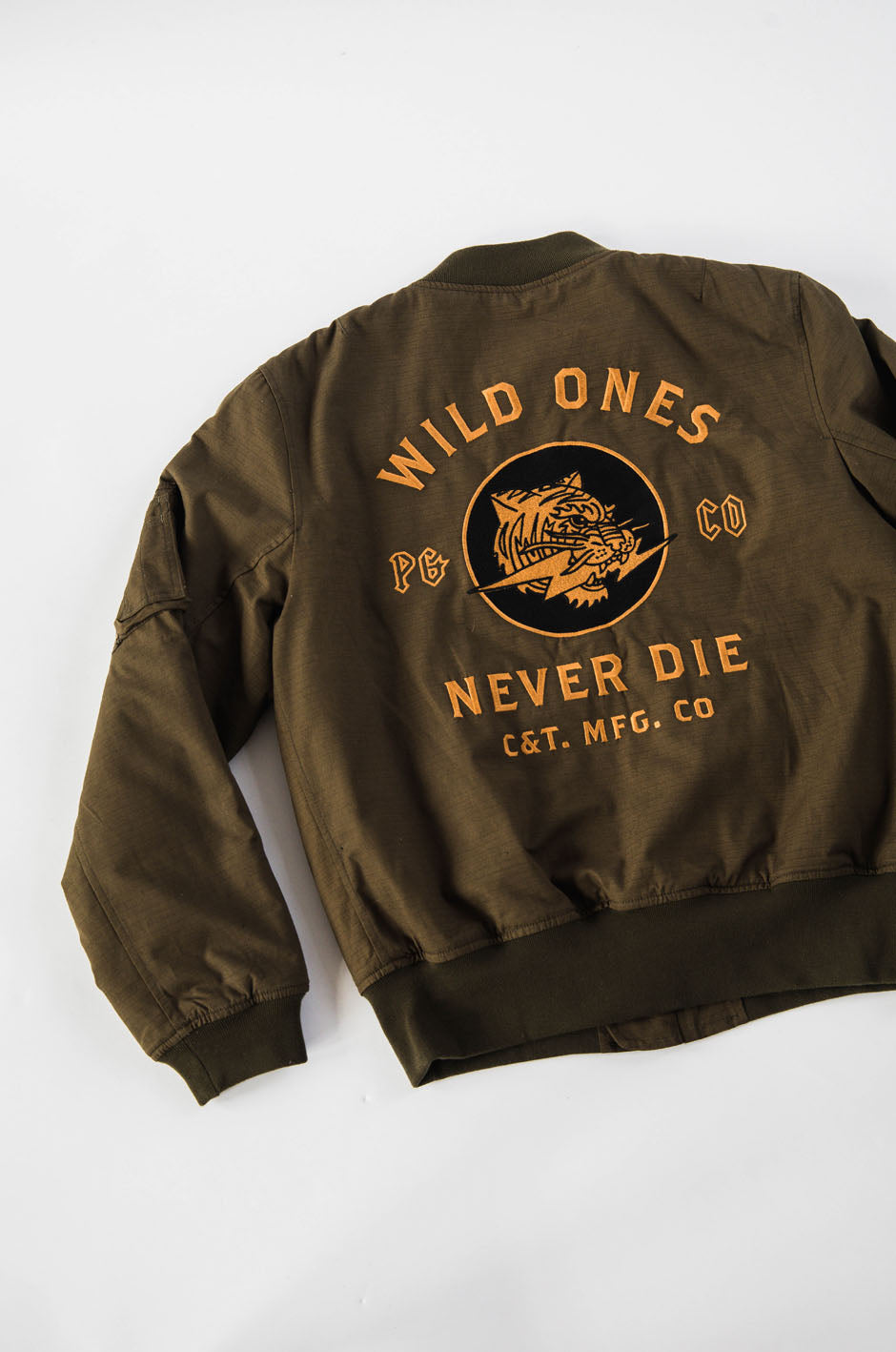 Wild Ones Ripstop Bomber Jacket // P&Co // pandco // Provision & Co // Winter 2017 // Menswear