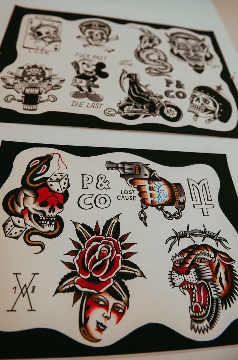 Provisions & Co (P&Co) - Le Mausolee lost cause flash tattoo tour