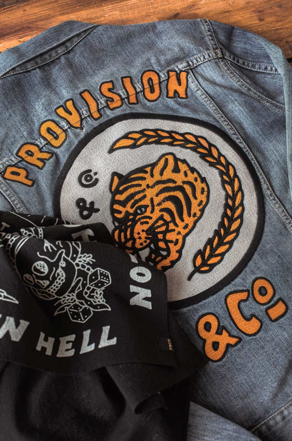 Provision & Co (P&Co) - The Provision Tiger Jacket