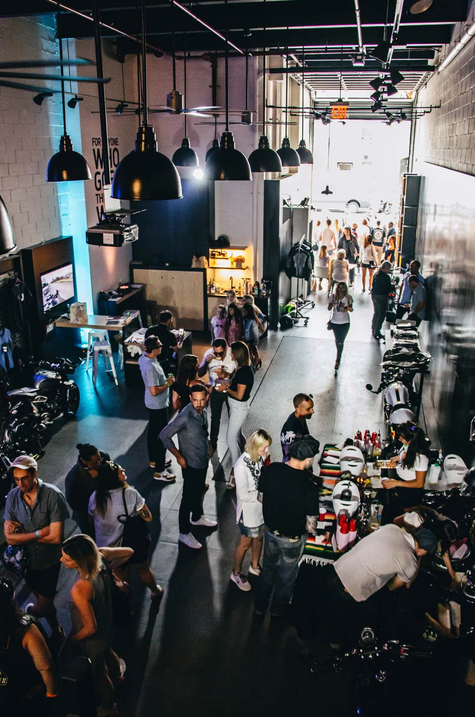 Provision & Co (P&Co) - Triumph, Brooklyn opening party