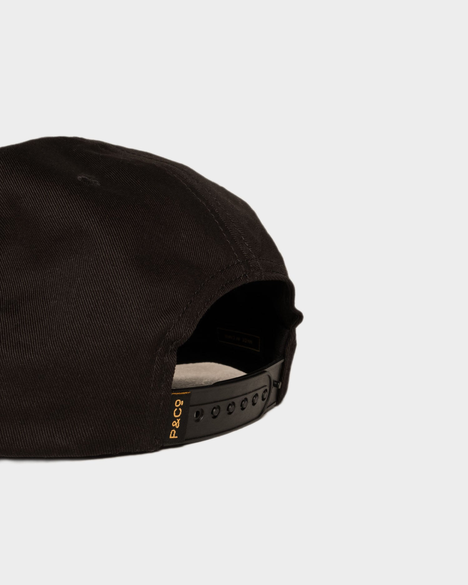 Whatever The Weather Black 5 Panel Cap