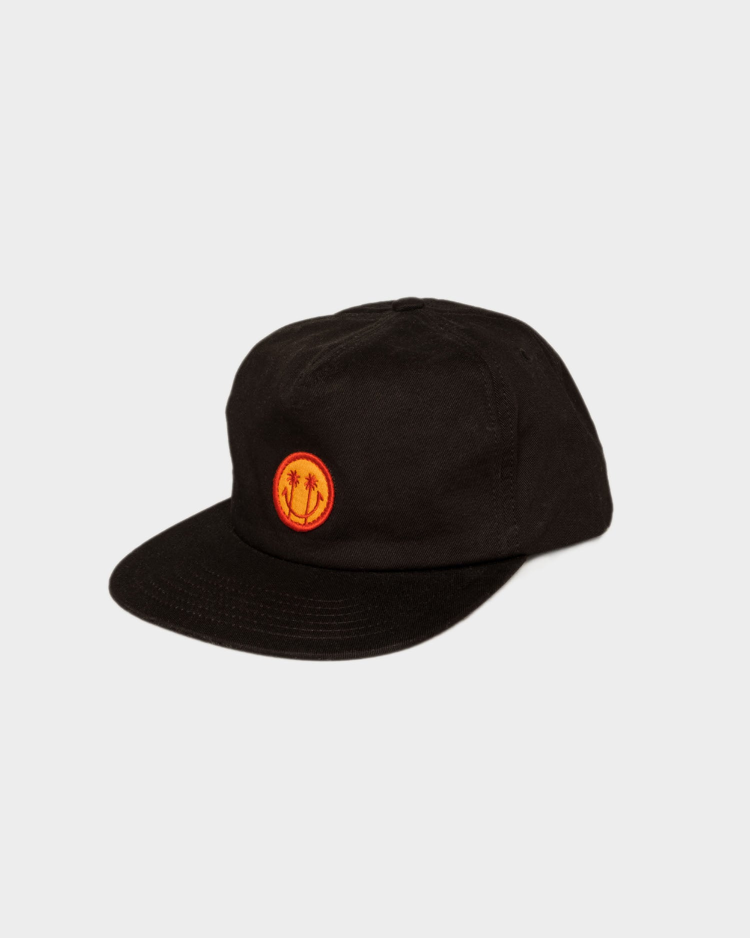 Black Whatever The Weather 5 Panel Cap