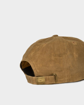 Waxed Mechanic 5 Panel Cap Sand