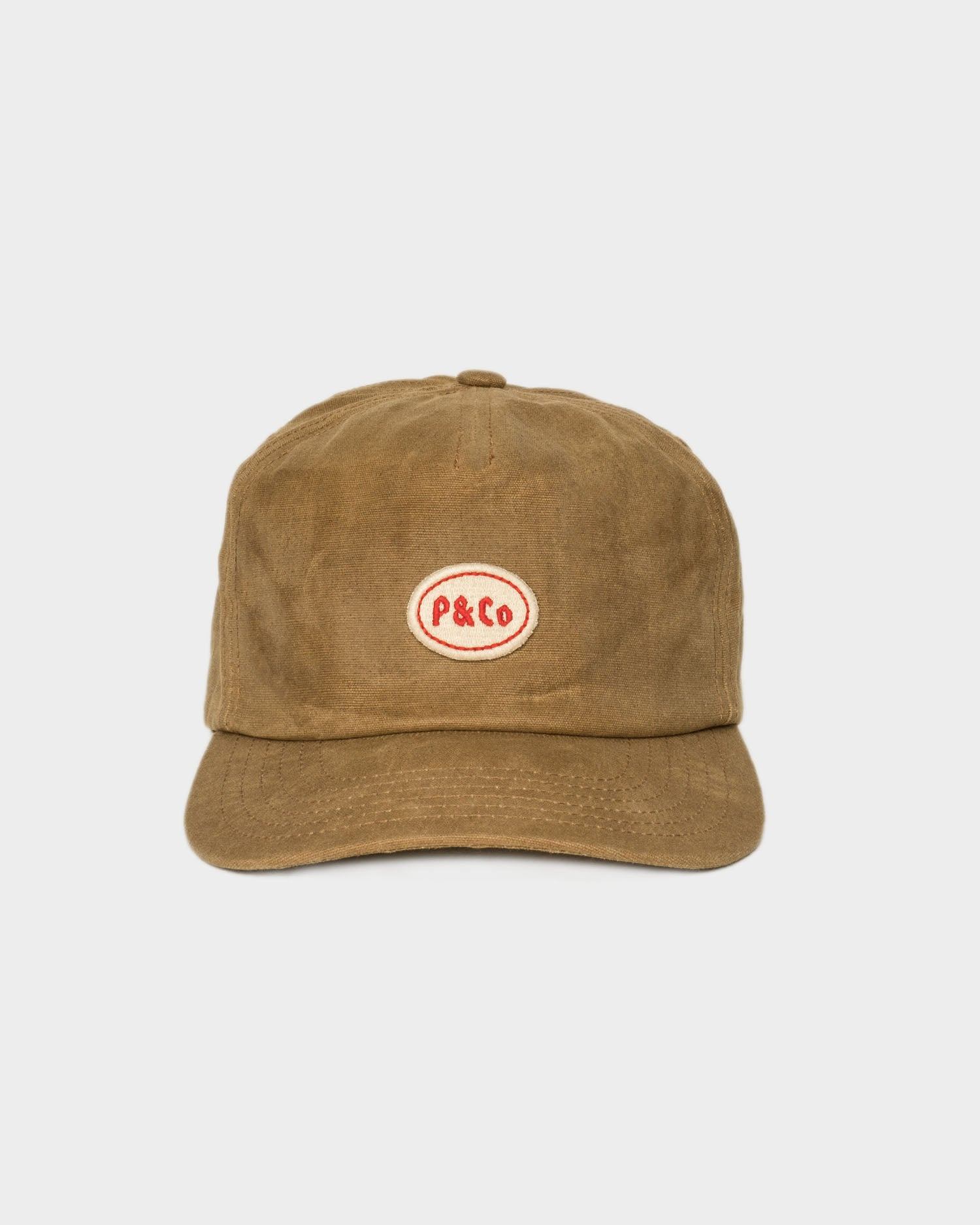 Waxed Mechanic 5 Panel Cap
