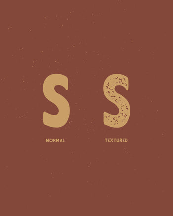 Two Stroke Textured Typeface