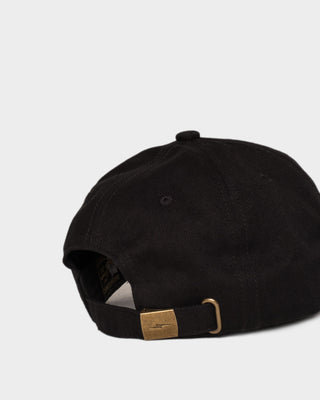 Logo Black 6 Panel Cap
