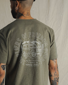 Freedom Goods Slub T-Shirt