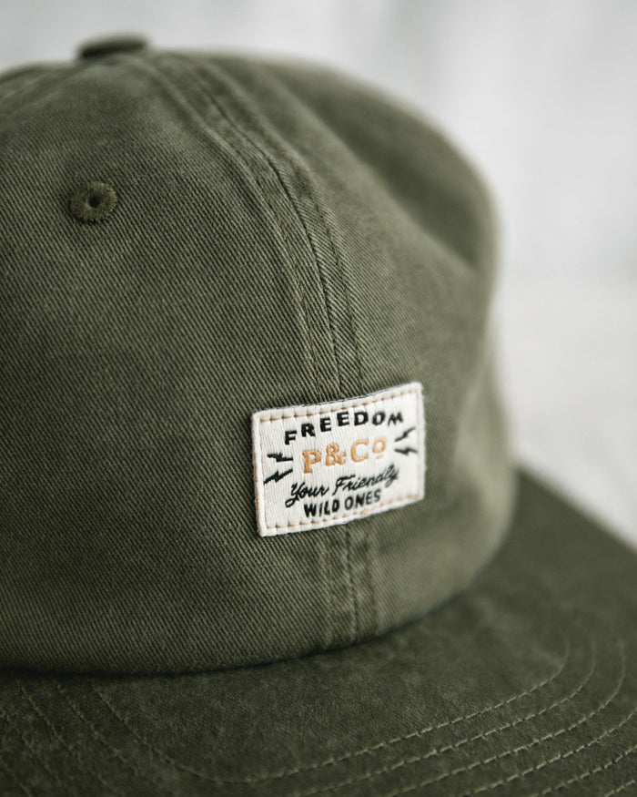 Freedom Patch Olive Cap