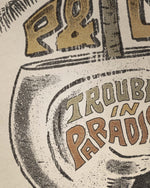 Trouble in Paradise A3 Print