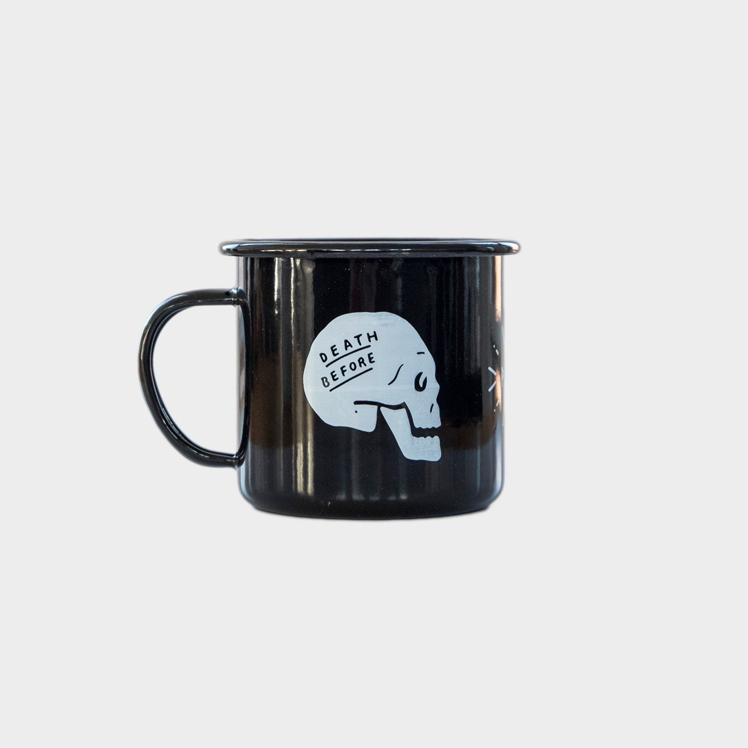 Death Before Decaf™ - Enamel Mug