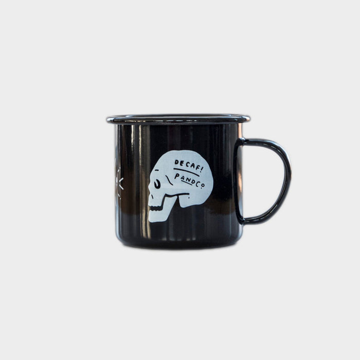 Death Before Decaf™ Enamel Mug