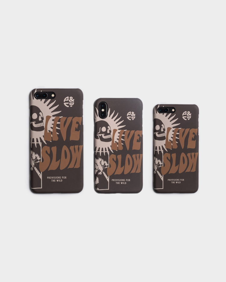 Black Live Slow Iphone Case for iphone 7/8/X